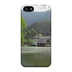 Iphone 5/5s Cover Case - Eco-friendly Packaging(tranquil Lake)