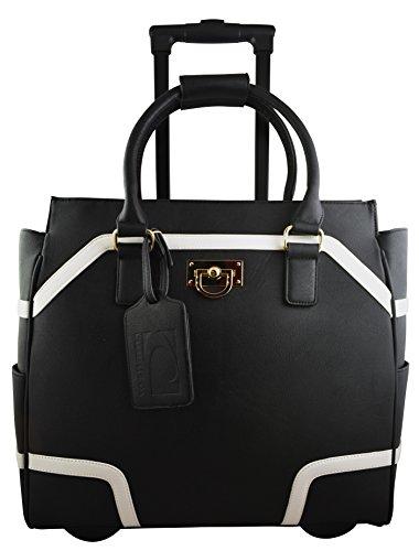 cabrelli-sofia-modern-156-laptop-rollerbrief-black-w-bonus-dreams-cosmetic-bag