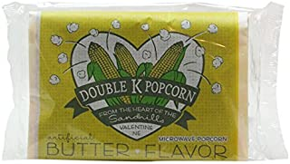 product image for Double K Popcorn Microwave Butter Popcorn,3.0 ounce,18 Count
