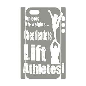 Diy Cheerleader Cheerleading Phone Case For Iphone 4/4S Cover 3D Shell Phone JFLIFE(TM) [Pattern-2]