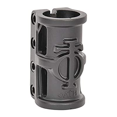 Oath Cage Alloy 4 Bolt SCS Clamp, Ano Satin Black : Sports & Outdoors