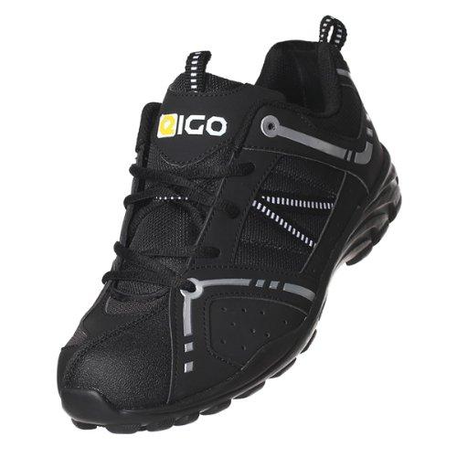 Zapatillas de ciclismo para Centaur Negro Blanco
