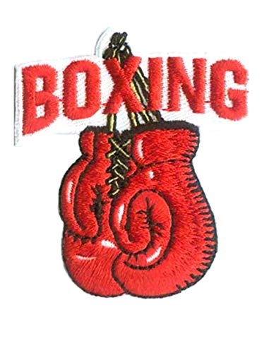 BOXING Iron On Patch Boxer Sports