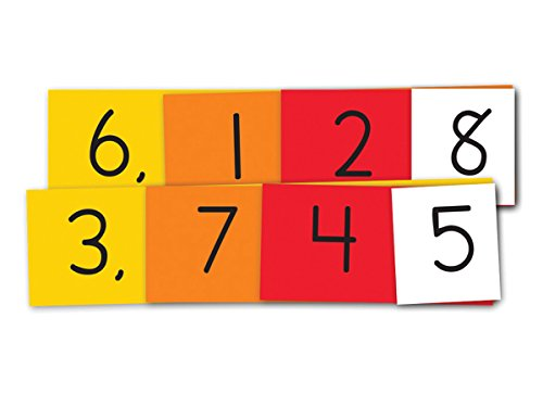 Crystal Springs Books Place Value Strips, 1-3 Units, Thousands, Singapore Math (402650) (1 Value Unit)