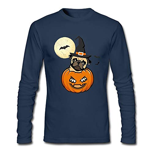 UDSNIS T-Shirt Man's Crewneck Apparel Long Sleeve Tee Navy XL for $<!--$19.26-->