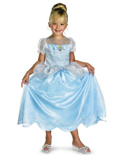Cinderella Classic Costume - Medium (7-8) (Disney Princess Girls Cinderella Classic Costume)