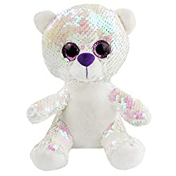 Stuffed Animals with Reversible Flip Sequins