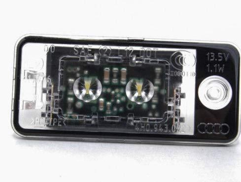GTV INVESTMENT A8 4H Plaque dimmatriculation LED c/ôt/é droit 4H0943022