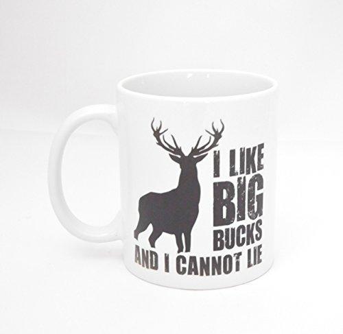 Father's Day Present - Funny Coffee Mug - Deer Hunting Comical Deer