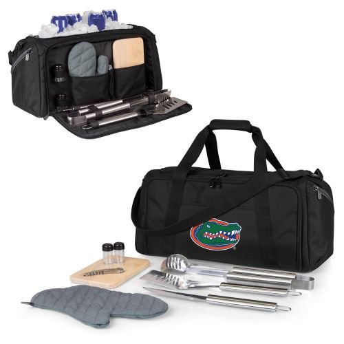 PICNIC TIME NCAA Florida Gators BBQ Kit Cooler Tote with Barbecue & Accessories