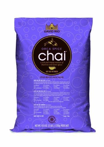 (David Rio Orca Spice Sugar-free Chai, 3 Lb. Bag)