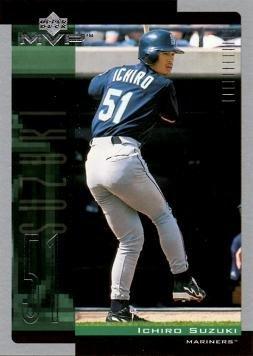 2001 Upper Deck MVP Baseball #60 Ichiro Suzuki Rookie Card