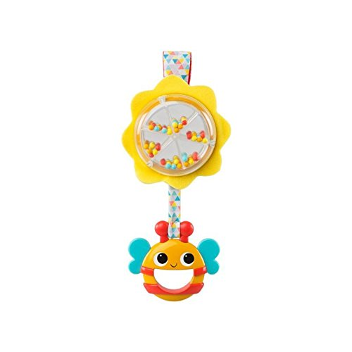 Bright Starts Spin & Rattle Bee Toys -