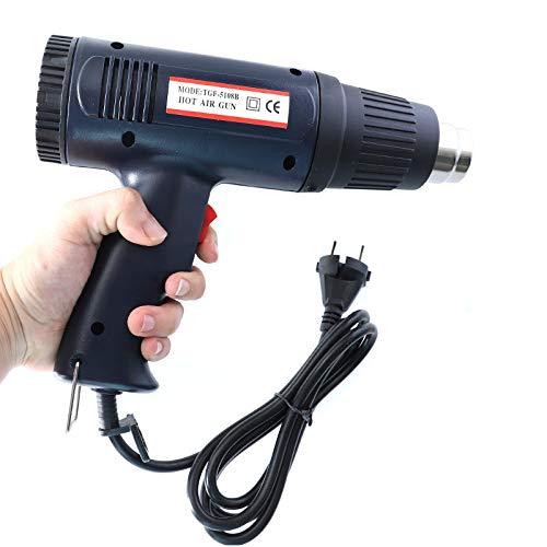 YTGOOD Industrial Business Supplies 1500W Adjustable Hot Air Heat Machine 220V Dual Temperature EU Plug Power Tools