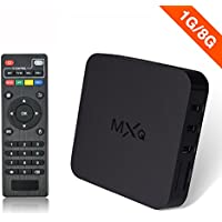 MXQ Android 4.2 TV BOX Amlogic S805 Quad Core 1G8G UltrHD 1080P 2.4GHz WIFI Smart TV Box Streaming Vedio player