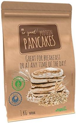 FA So Good Protein Pancakes 1kg Fresa queso crema: Amazon.es ...