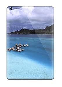 Excellent Ipad Mini/mini 2 Case Tpu Cover Back Skin Protector Bora Bora