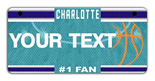 - BRGiftShop Personalize Your Own Basketball Team Charlotte Motorcycle Golf Cart 4
