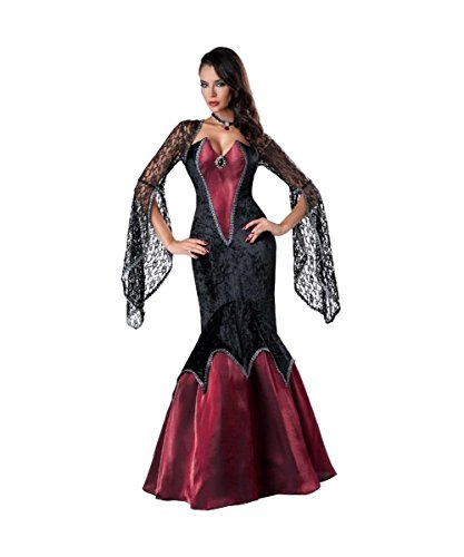 Gothic Vampire Seductress Womens Halloween Costume