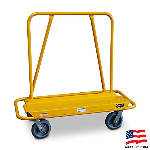 American Cart Heavy Duty Drywall Cart with 8