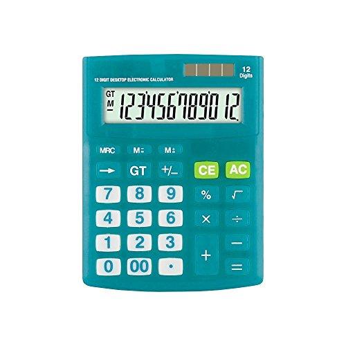 Calculadora de Mesa Zeta ZT-316 Azul 12 Digitos