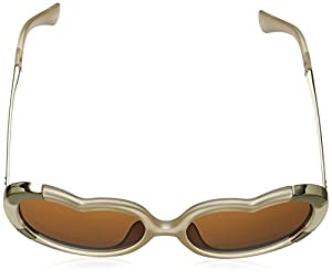 A.J. Morgan Women's Heartstomper Round Sunglasses