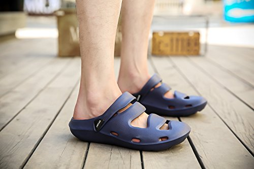 Zoccoli Spiaggia Casual Blu Pantofole Donna TORISKY da Domestiche Scarpe Sandali Uomo FnIqAz