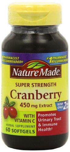 史低价!Nature Made 蔓越莓精华维生素C胶囊