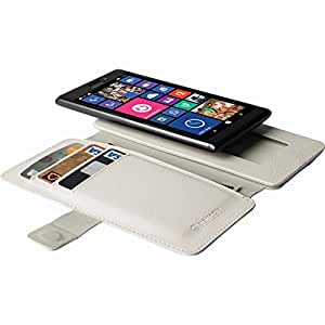 Krusell 7394090761020 - Malmö flipwallet slide 5xl - funda para movil (blanco)