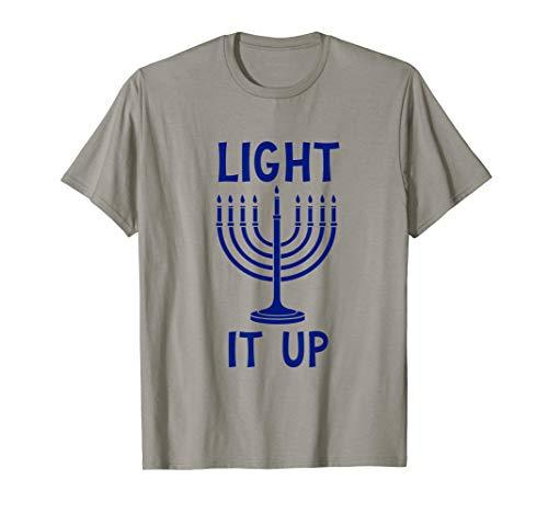 Light it Up Hanukkah Menorah -