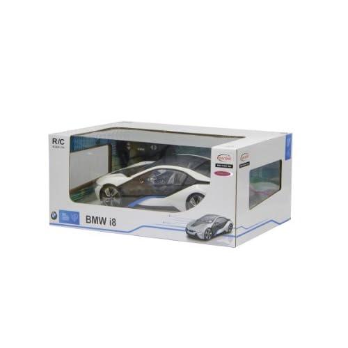 Jamara 404490 - Maquette - Voiture - Bmw I8 Echelle 1:14 Weiß 40 Mhz