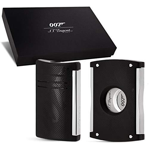 (S.T. Dupont Black Maxi Jet James Bond Box)
