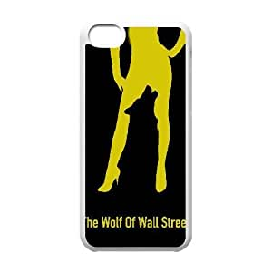 Special Design Cases iPhone 5C Cell Phone Case White The Wolf of Wall Street Hgjur Durable Rubber Cover
