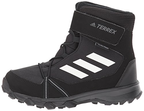 adidas Outdoor Unisex-Kids Terrex Snow CF CP CW K Hiking Shoe,Black/Chalk White/Black,6 Child US Big Kid by adidas outdoor (Image #5)