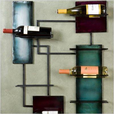 Ravenel Wine Storage Wall Sculpture
