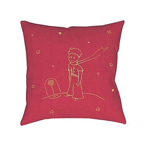 KIUB - Cojín (30 x 30 cm), diseño de príncipe y Rosa: Amazon ...