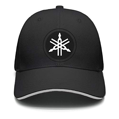 Funny Yamaha-Piano-Logo-Symbol-Emblem- Black Baseball Hat Womens Mens
