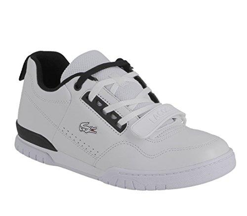 Lacoste Lacoste Missouri G117 1 Trm Wht Blk Leather 7 33trm1001147, Herren Sneaker