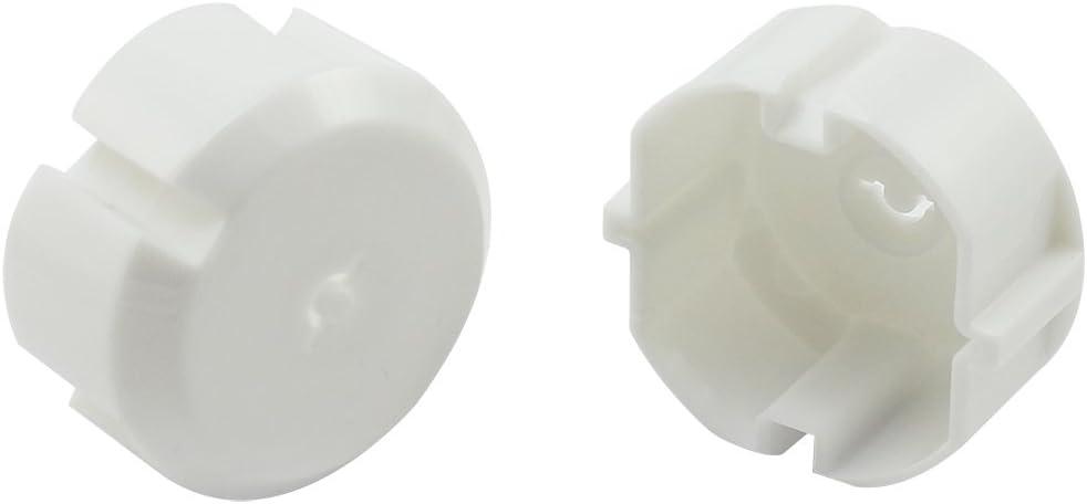 com-four/® Fusible 15x avec cl/é en m/étal 15 pi/èces Protection optimale pour Les b/éb/és et Les Tout-Petits