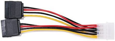 Cables CAA-Hot 2-Port SATA Splitter Power Cable - 2 x 15-Pin Cable Length: Other