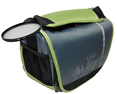 Foto Tasche Kamera Bag MIAMI XL + UV Filter 55mm für Sony Alpha 7 R II B mit Objektiv SEL 28-70mm KB