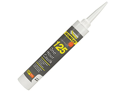 Everbuild 125C3 300ml One Hour Caulk - White