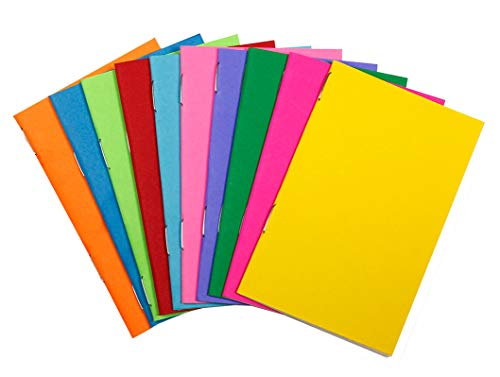 (Hygloss Tiny Colorful Blank Books Notebook, Sketch Pad, Journal for Drawing, Writing and Scrapbooking, 2 ¾ x 4 ¼-inch-20 per Pack)