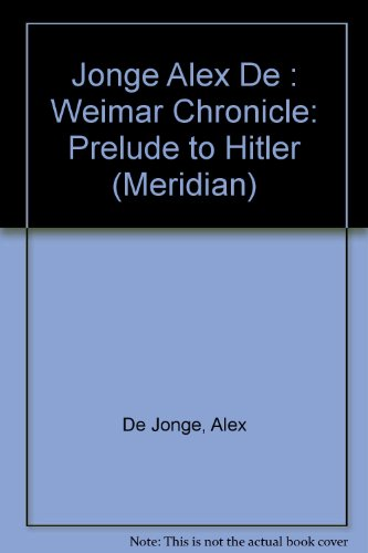 The Weimar Chronicle