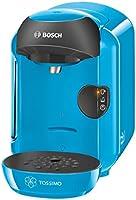 Bosch TASSIMO Vivy TAS1255 - Cafetera multibebidas automática de cápsulas, diseño compacto, color azul