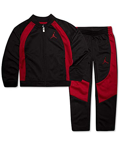 Nike Jordan Jumpman Toddler Jacket Tracksuit Pants Outfit Set, Size 2T (Jordan Toddler Outfit)
