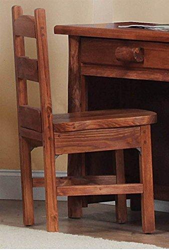 Chilmark Rustic Desk Chair Pecan in Pecan Finish