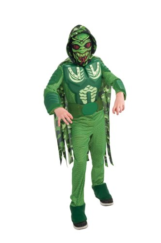 The Alien Costume Part 2 (Rubie's Deluxe Army Alien Costume - Small (2-4))