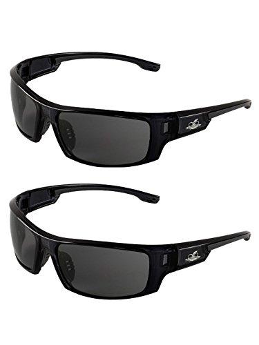 d55babb8a2c09 Bullhead Safety Eyewear BH943AF Dorado Safety Glasses with Dark Smoke  Lenses