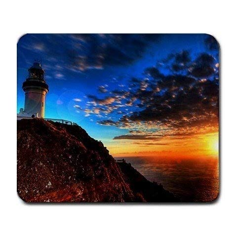 Lighthouse Scenic Nature Photo Large Mousepad Mouse Pad Great Gift Idea